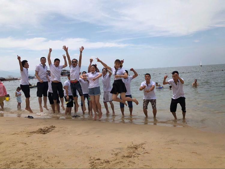 2018年惠州十里银滩海边烧烤一日游