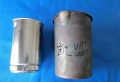 不锈钢水壶电解抛光恢复光亮实例